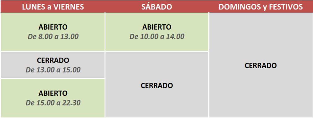 Horario Sport Studio Gym